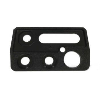 1411-50701-405 BK Radio Top Plate - Molded, Not Including Inlay for DPH, GPH, EPH