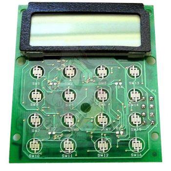 2003-30964-300 Alpha Numeric LCD Display, Includes Board for RELM BK Radio DPH-CMD, GPH-CMD