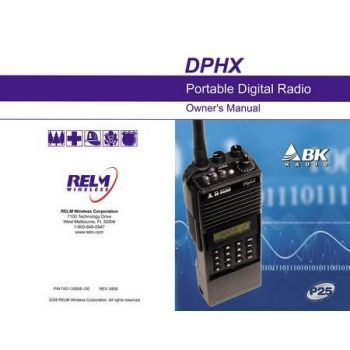 7001-30958-100 Owners Manual DPHX BK Radio