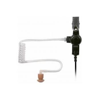 """AALO9RS3I Acoustic Tube Listen Only Ear Piece - Surveillance Design, 30"""" Straight Cord, 3.5mm Jack"""