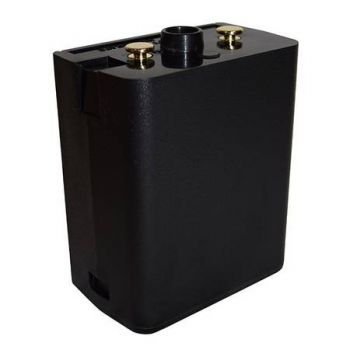 LAA0172 BadAss Black 3800 mAH /  Li-Ion, Super High Capacity Rechargeable Battery for RELM BK Radio DPH, GPH