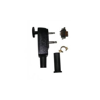 Accessory Connector, 6pin, 2.5mm Audio and 3.5mm RF Jack, LAA0603 - for RELM BK Radio DPH, GPH, EPH Accessories