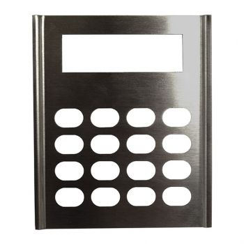 LAA0640 Metal Keypad Cover, Stainless Steel for RELM BK Radio DPH, GPH (Non-CMD)