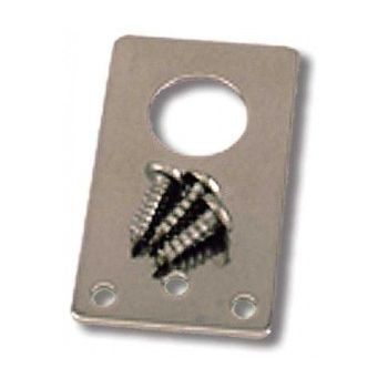 "SBT3400 Straight Mount Antenna Bracket, Antenex - 3/4"" Hole, Stainless Steel and inlcudes screws"