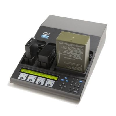 Cadex BBM4 Battery Analyzer/Conditioner - 4 Bank (4 Bay), BK Relm KNG Series Batteries