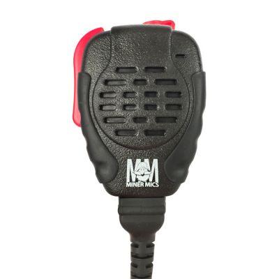 KAA0204-35 Ruggedized Miner Mic, IP56 (Driven Rain)  for RELM BK Radio KNG P Series