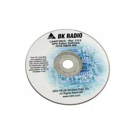 LAA0747CD Programming Software CD for Bendix King DPH5102X-CMD